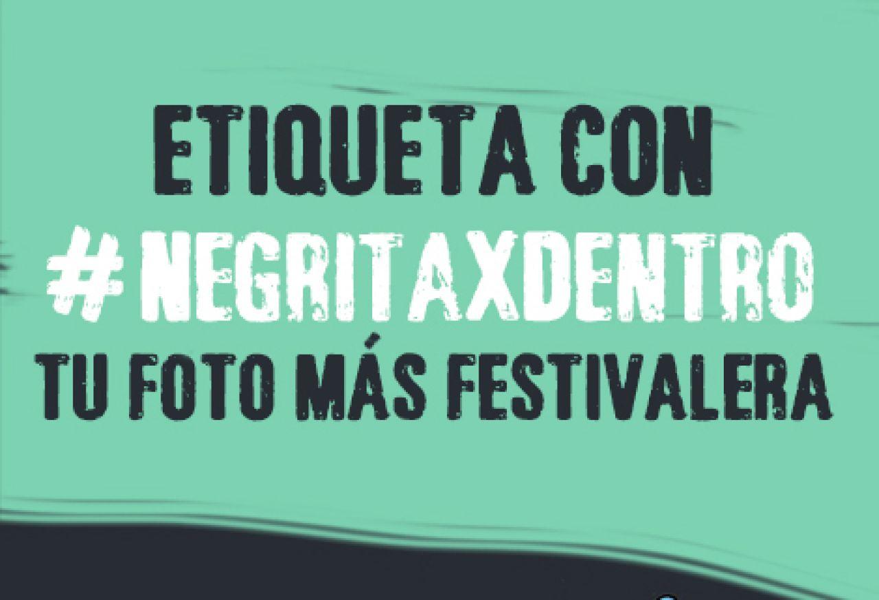 Negrita te invita a la fiesta de un festival por dentro
