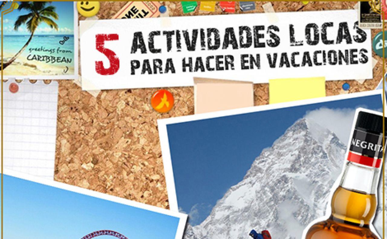 Prepara un verano loco con estas cinco actividades